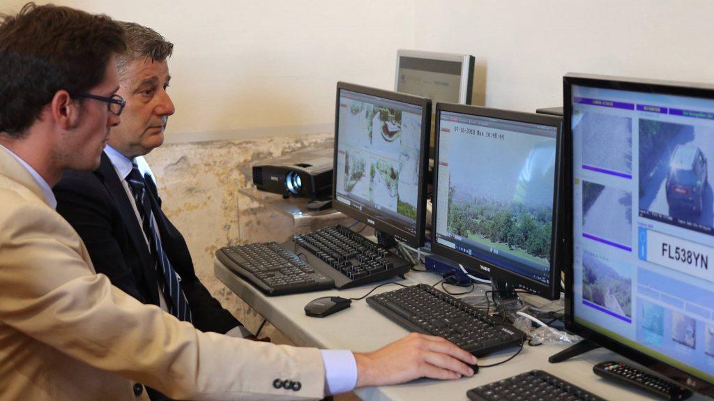Presentazione del sistema di videosorveglianza del Parco