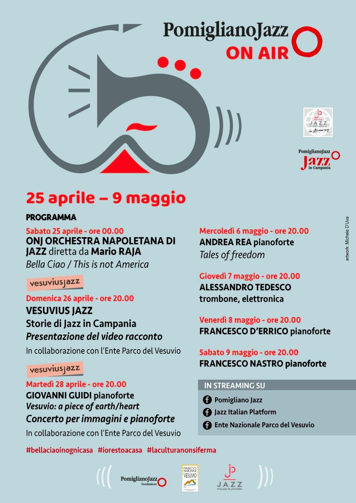 Pomigliano Jazz on air | Parco Nazionale del Vesuvio